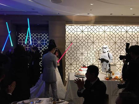 【出撃レポート】10月29日 結婚披露宴@表参道