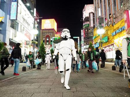 【出撃レポート】11月20日 Greenbird清掃活動@歌舞伎町