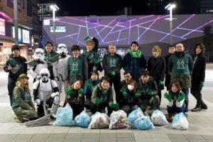 【出撃レポート】1月15日 greenbird歌舞伎町チーム清掃活動@歌舞伎町