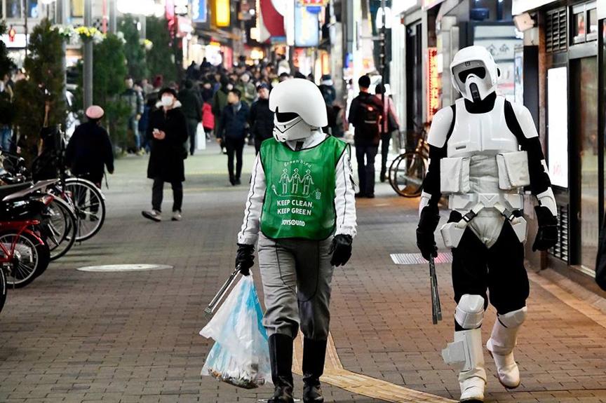 【出撃レポート】2月19日 greenbird清掃活動@歌舞伎町