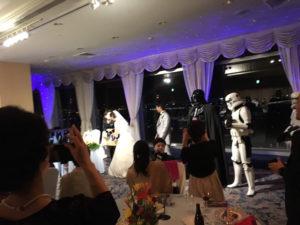 【出撃レポート】2月24日 結婚披露宴 明さん・奈月さん