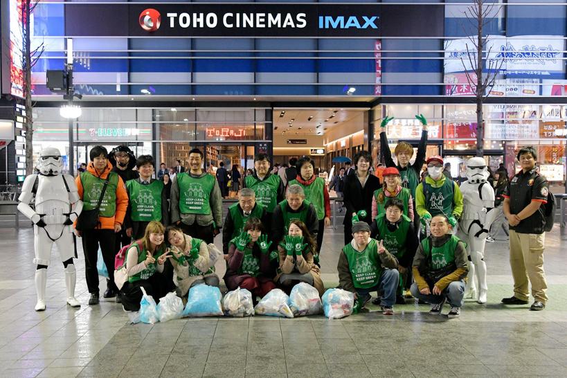 【出撃レポート】3月19日 greenbird清掃活動@歌舞伎町