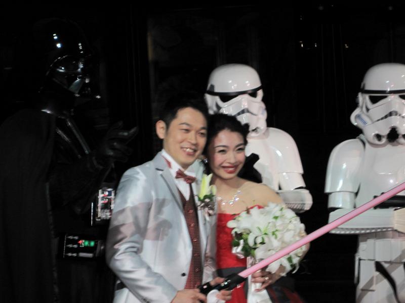 【出撃レポート】3月3日 結婚披露宴@恵比寿