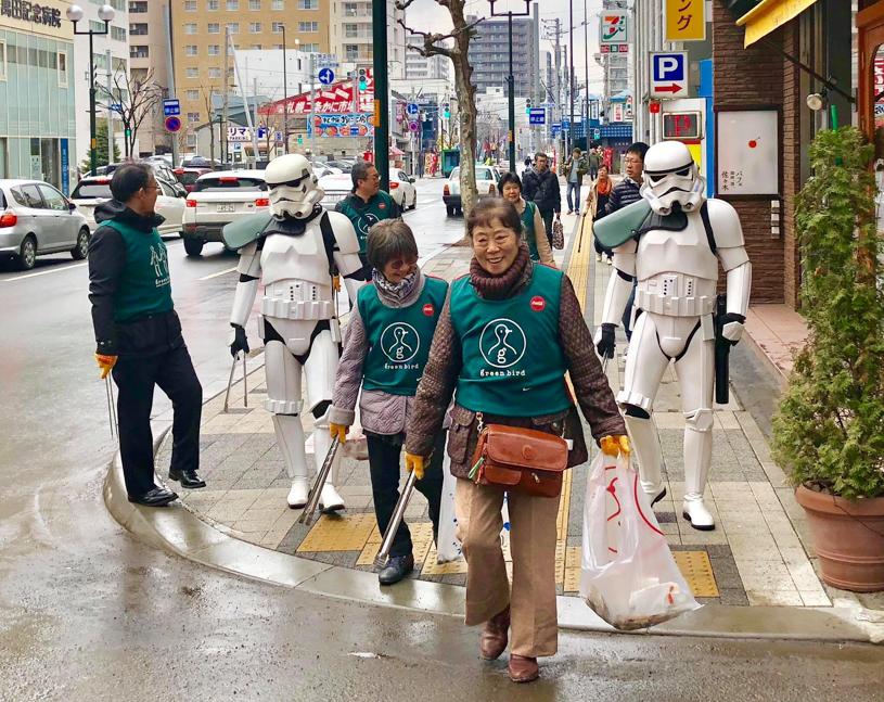 【出撃レポート】4月7日 greenbird清掃ボランティア@札幌