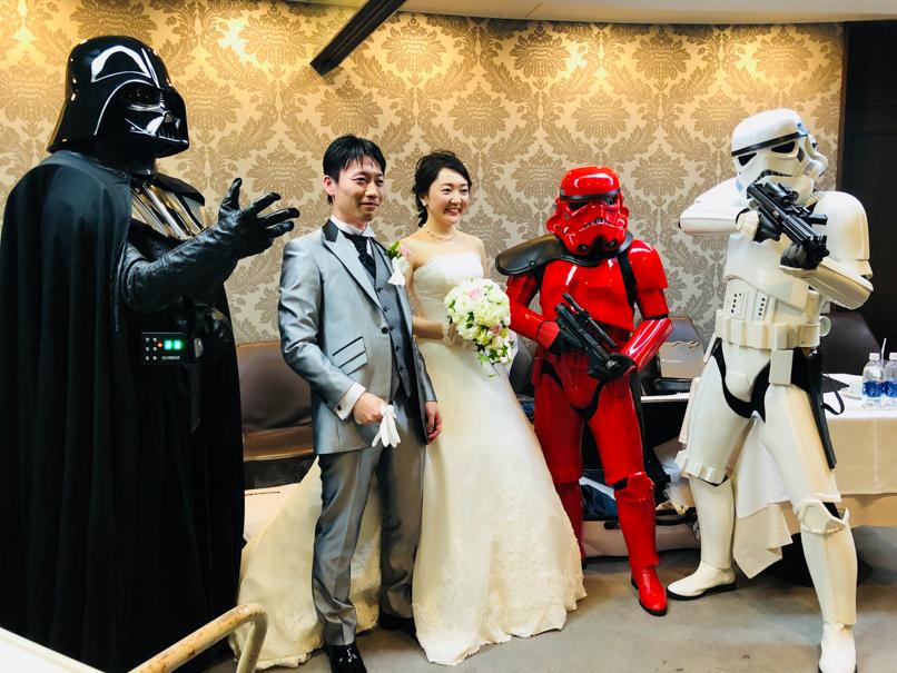 【出撃レポート】4月7日結婚披露宴