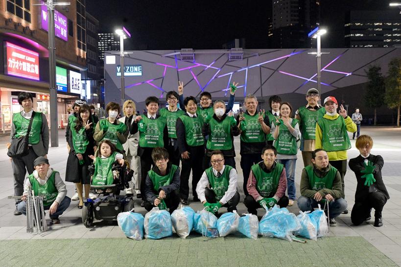 【出撃レポート】4月2日 Greenbird清掃活動@歌舞伎町