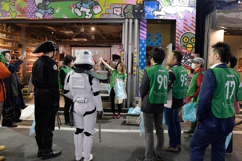【出撃レポート】4月16日 greenbird清掃活動@歌舞伎町