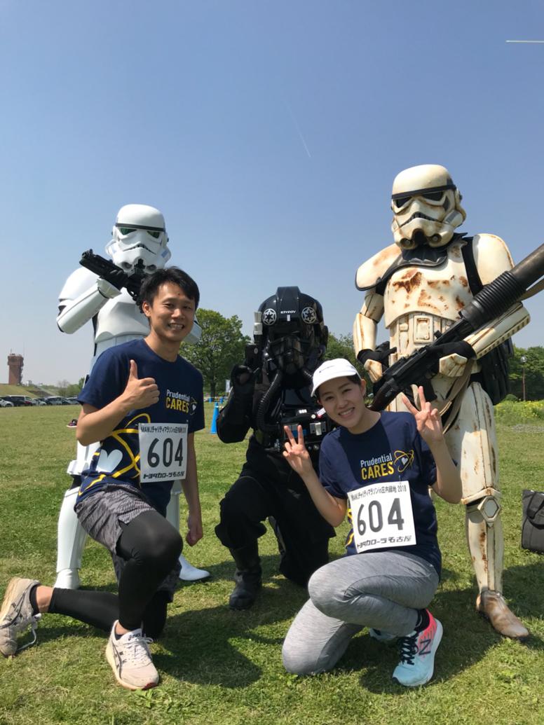 【出撃レポート】4月21日MWJ名古屋支部チャリティマラソンin省内緑地