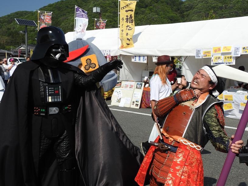 【出撃レポート】4月29 日 奈良県平群郡「へぐり時代祭り」