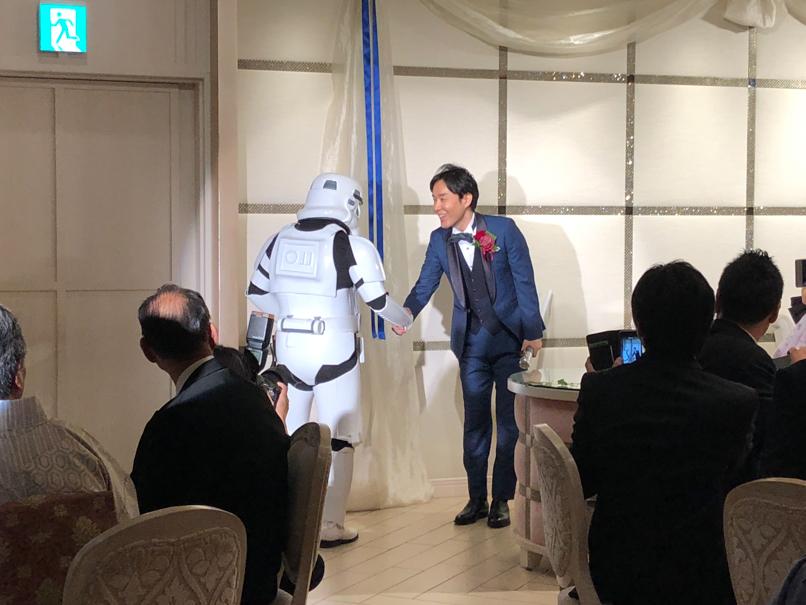 【出撃レポート】5月4日 結婚披露宴 @表参道