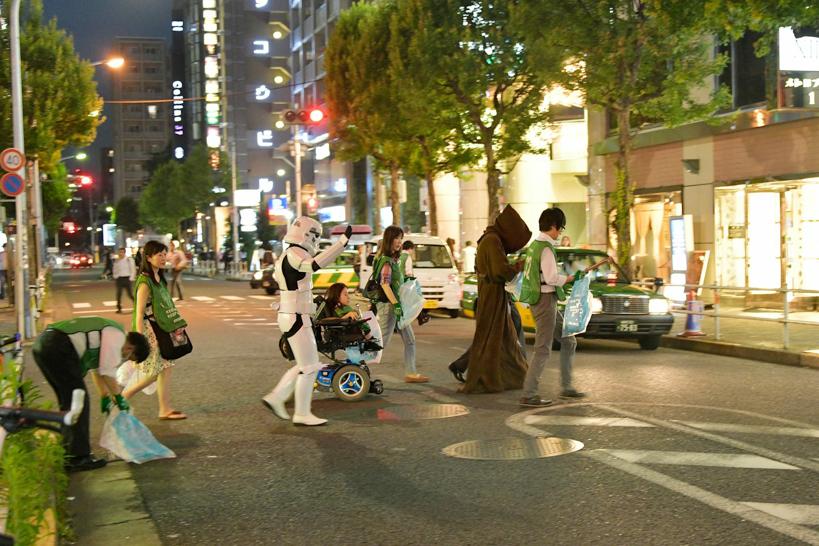【出撃レポート】5月21日 greenbird清掃活動@歌舞伎町