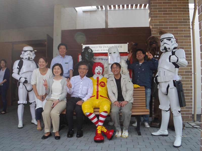 【出撃レポート】6月2日 ドナルド・マクドナルド・ハウス さっぽろ オープンハウス