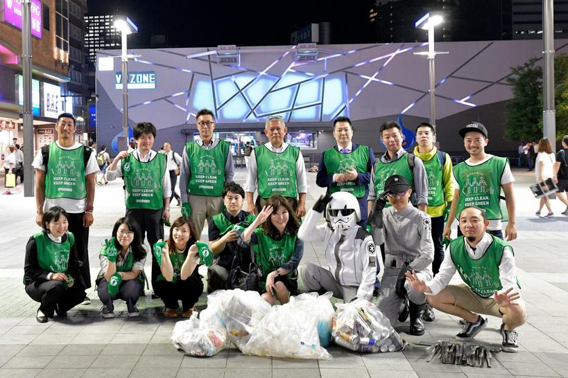 【出撃レポート】6月4 日 green bird 歌舞伎町チーム、清掃活動お手伝い