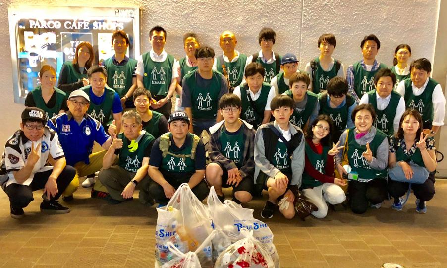 【出撃レポート】7月19日green bird札幌チーム 清掃活動お手伝い