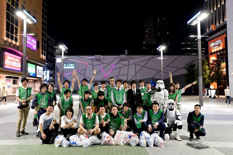 【出撃レポート】7月2日 green bird 歌舞伎町チーム 清掃活動お手伝い