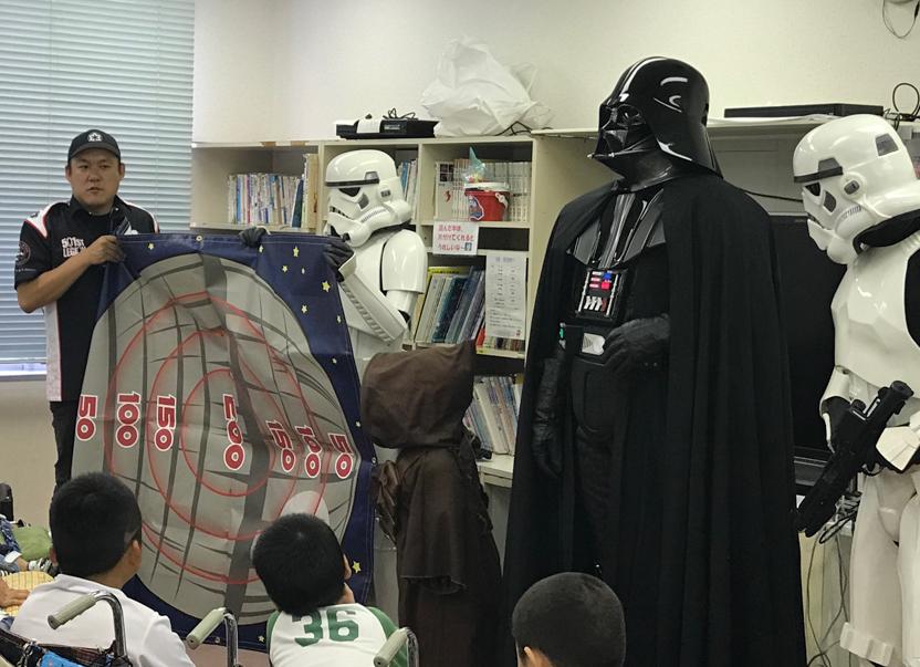 【出撃レポート】8月24日 神奈川県立こども医療センター訪問