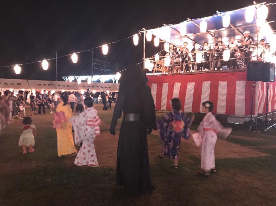 【出撃レポート】8月11日第37回しらかわ盆踊り大会@福島県白河市