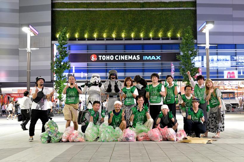 【出撃レポート】8月6日 green bird 歌舞伎町チーム 街の清掃活動お手伝い