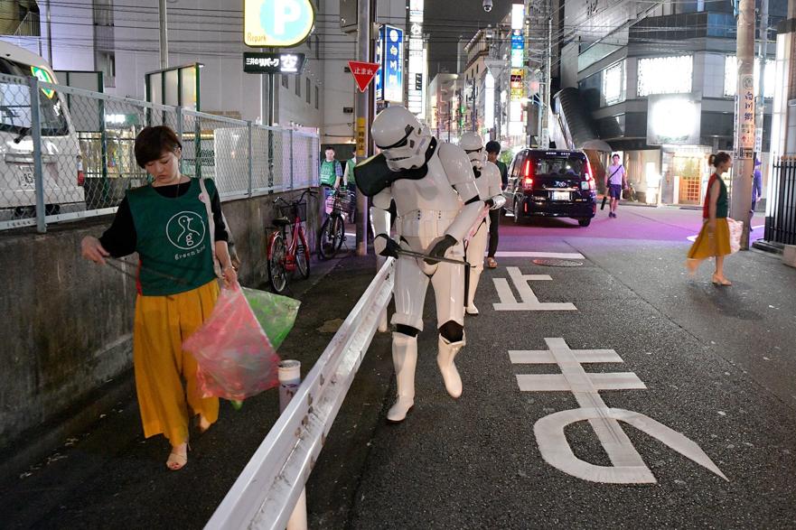 【出撃レポート】8月20日 green bird歌舞伎町チーム 街の清掃活動お手伝い