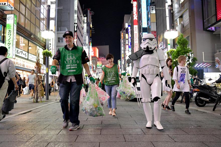 【出撃レポート】9月3日 green bird清掃活動@歌舞伎町