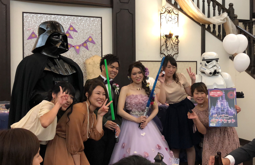 【出撃レポート】10月8日 結婚披露宴@代官山