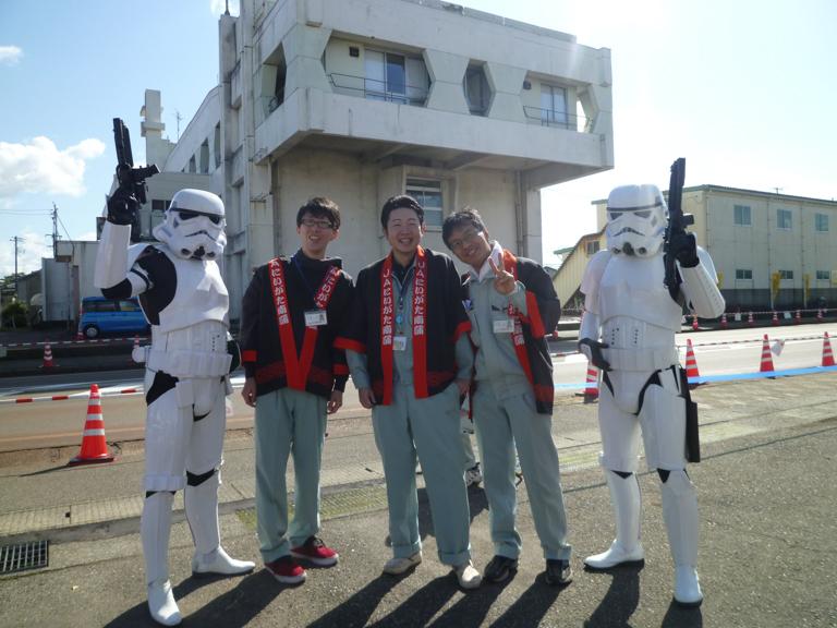 【出撃レポート】10月21日 中之島産業祭り@新潟県長岡市