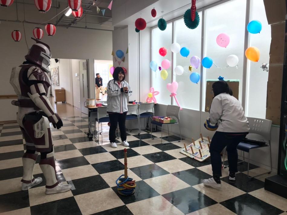 【出撃レポート】11月10日 しらかわ介護福祉専門学校第2回文化祭