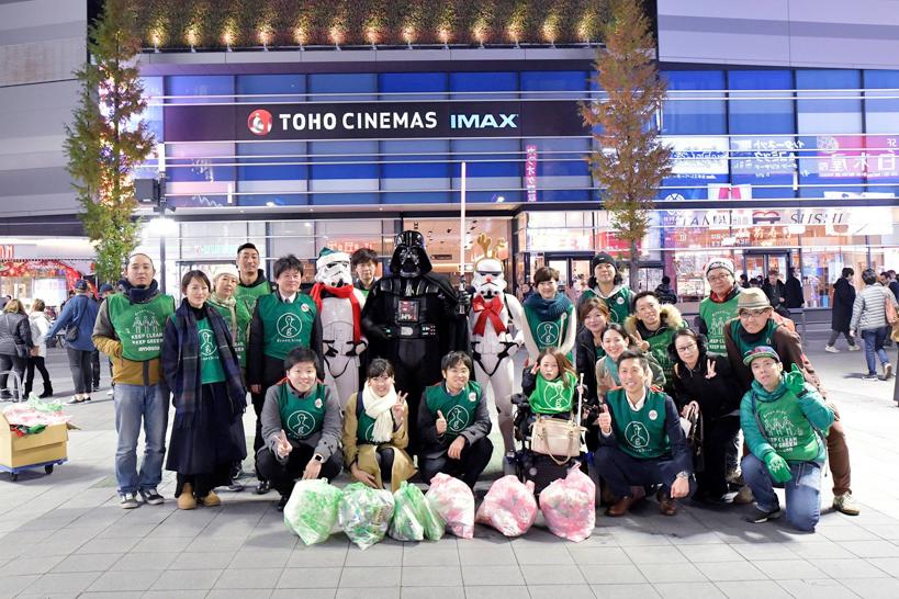 【出撃レポート】12月17日 greenbird清掃活動@歌舞伎町