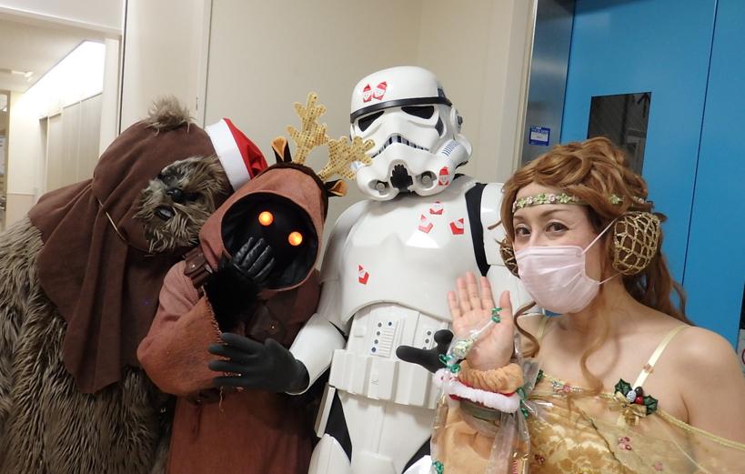 【出撃レポート】12月7日神奈川県立こども医療センター