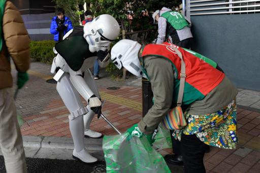 【出撃レポート】1月21日 green bird清掃活動@歌舞伎町