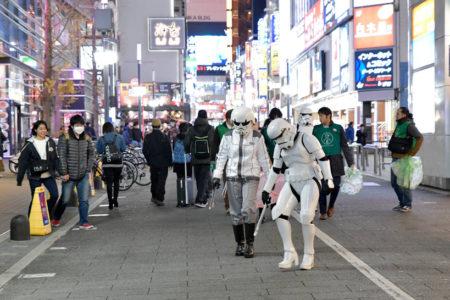 【出撃レポート】1月7日greenbird清掃活動@歌舞伎町