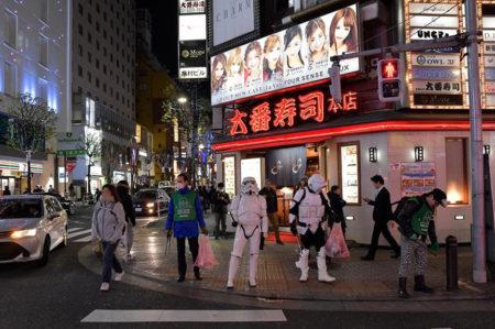 【出撃レポート】2月18日 green bird清掃活動@歌舞伎町