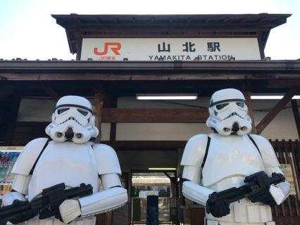 【出撃レポート】2月3日 やまきた駅前朝市@神奈川県山北町