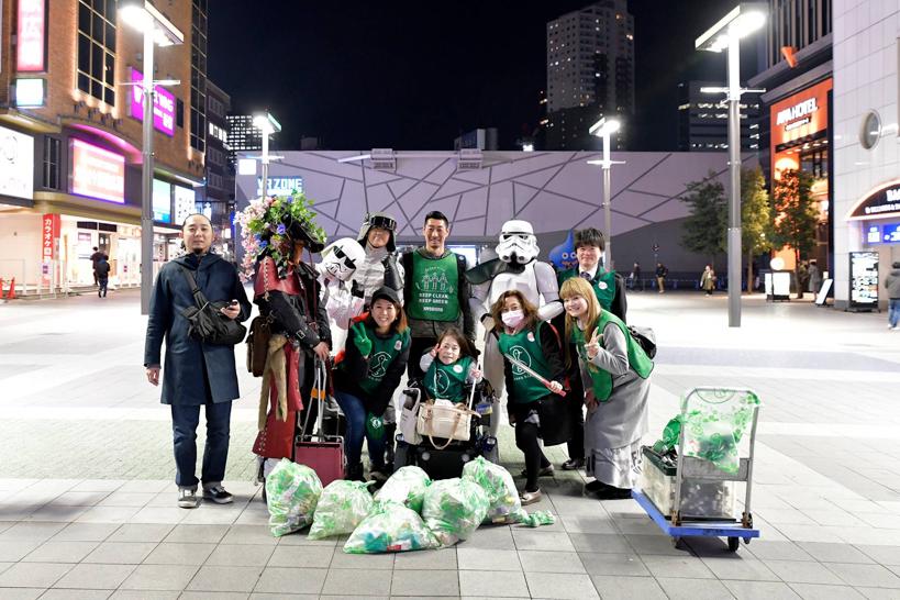 【出撃レポート】3月18日 greenbird清掃活動@歌舞伎町