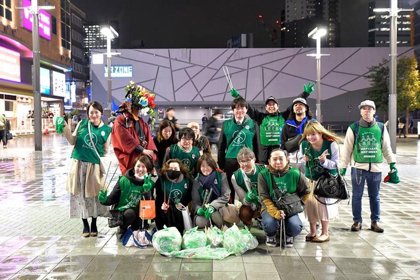 【出撃レポート】4月1日 greenbird清掃活動@歌舞伎町