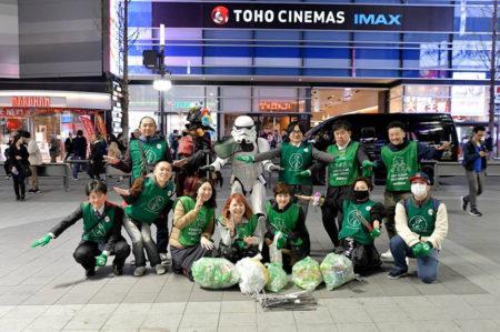 【出撃レポート】4月15日 greenbird清掃活動@歌舞伎町