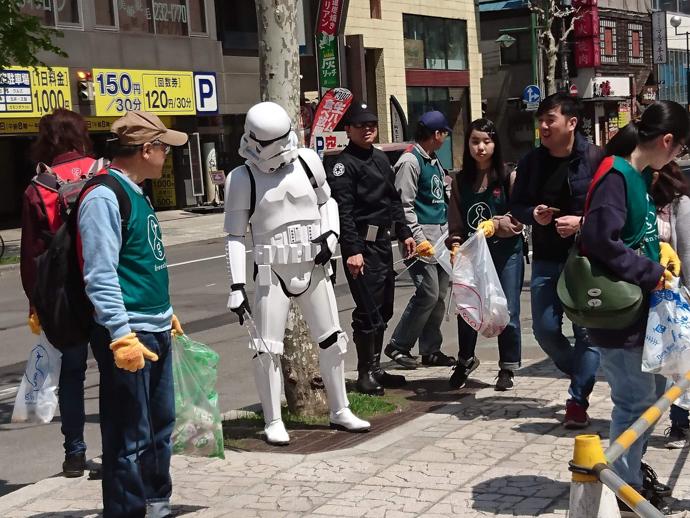 【出撃レポート】5月4日 greenbird清掃ボランティア@札幌