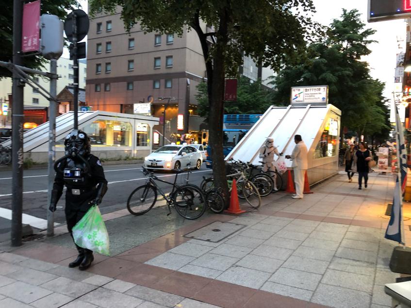 【出撃レポート】6月20日 greenbird清掃ボランティア@札幌