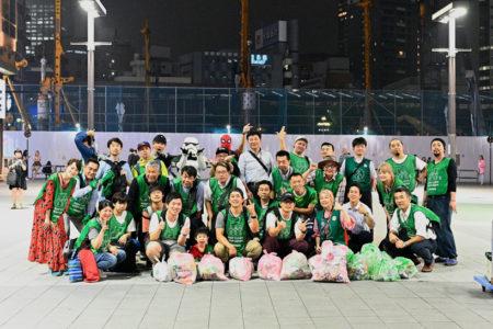 【出撃レポート】7月1日 green bird歌舞伎町チーム 清掃活動お手伝い