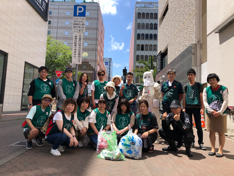 【出撃レポート】7月6日 greenbird清掃札幌チーム 清掃活動お手伝い