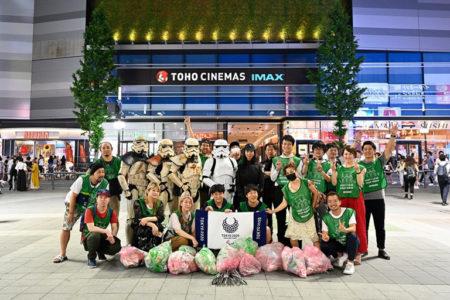 【出撃レポート】8月5日、8月19日 green bird清掃活動@歌舞伎町