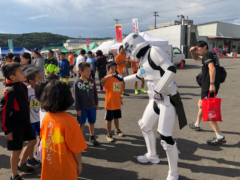 【出撃レポート】9月29日 第4回久慈あまちゃんマラソン大会