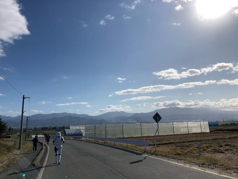 【出撃レポート】11月2日第8回やまのべ星ふるロードマラソン大会@山形県山辺町