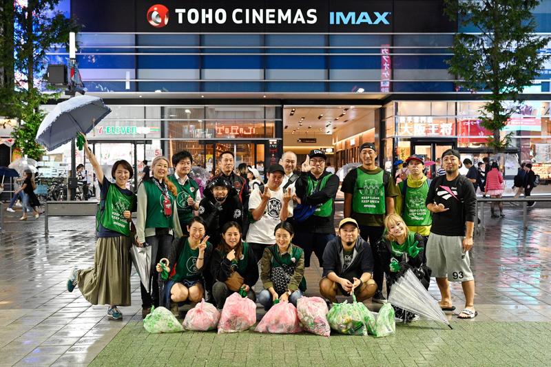 【出撃レポート】10月7日 greenbird歌舞伎町清掃活動