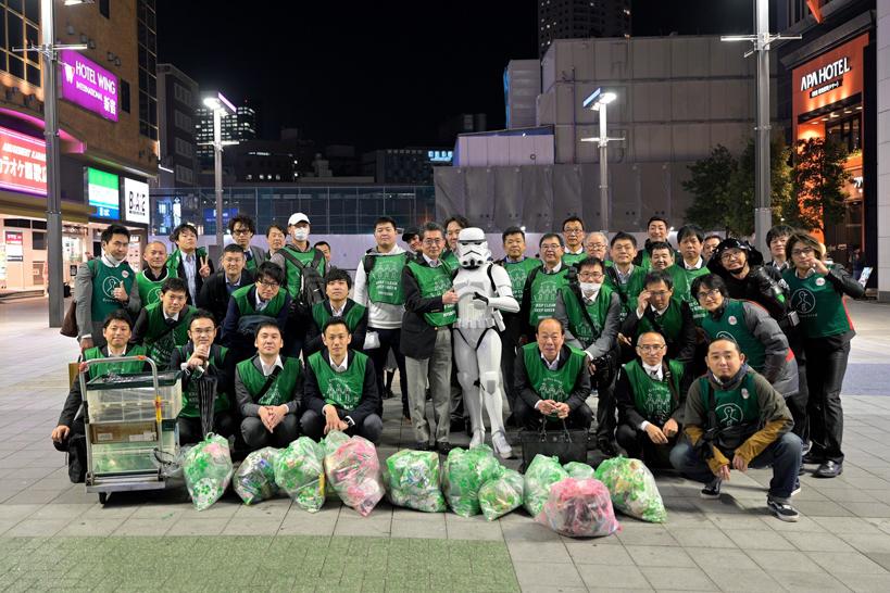 【出撃レポート】11月18日 green bird清掃活動@歌舞伎町