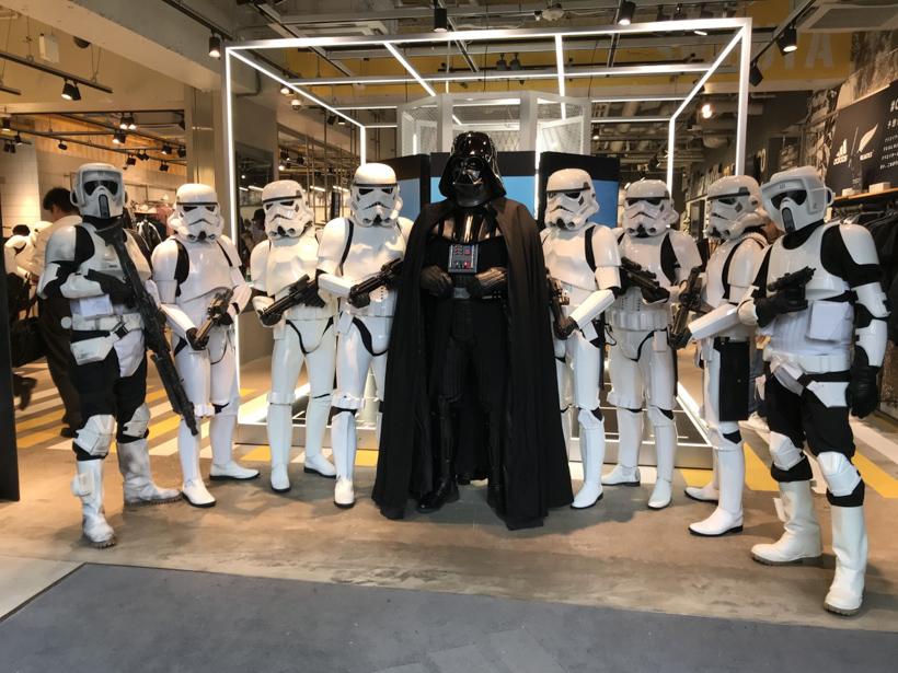 【出撃レポート】11月2日 adidas x Star Wars Celebration