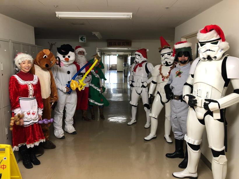 【出撃レポート】12月6日神奈川県立こども医療センタークリスマス訪問