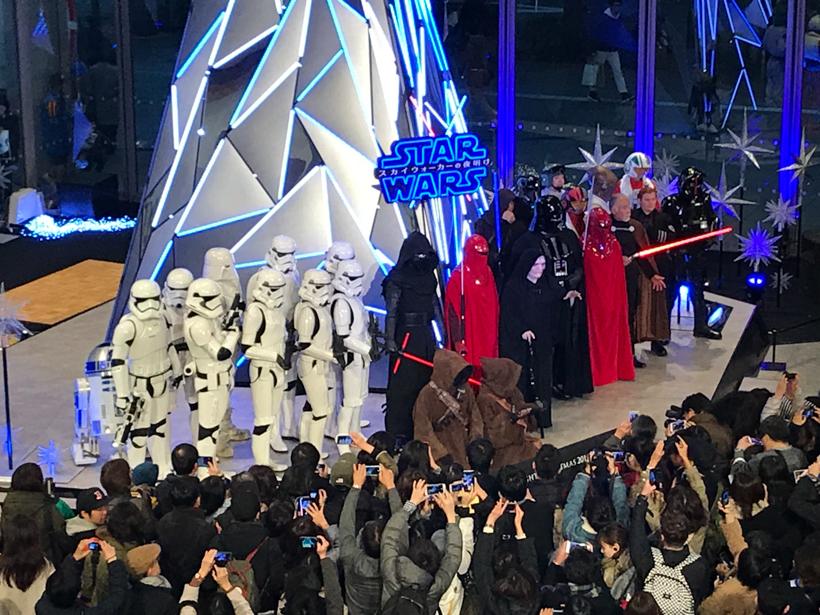 【出撃レポート】12月1日 Marunouchi Bright Christmas event