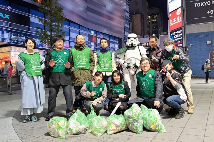 【出撃レポート】12月 green bird歌舞伎町清掃活動
