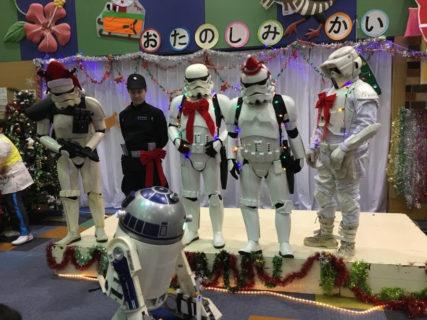 【出撃レポート】2月18日 沖縄県立南部こども医療センタークリスマスお楽しみ会